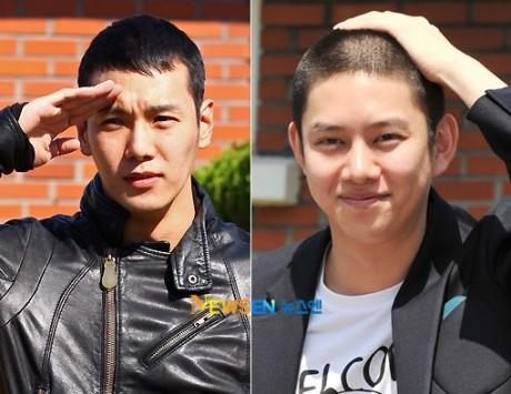 Heechul Suju dan Hwanhee di tempat yg sama