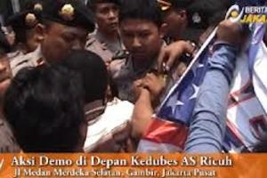 Demo Anti Amerika terkait peredaran Film Innocence Of Muslim di Indonesia
