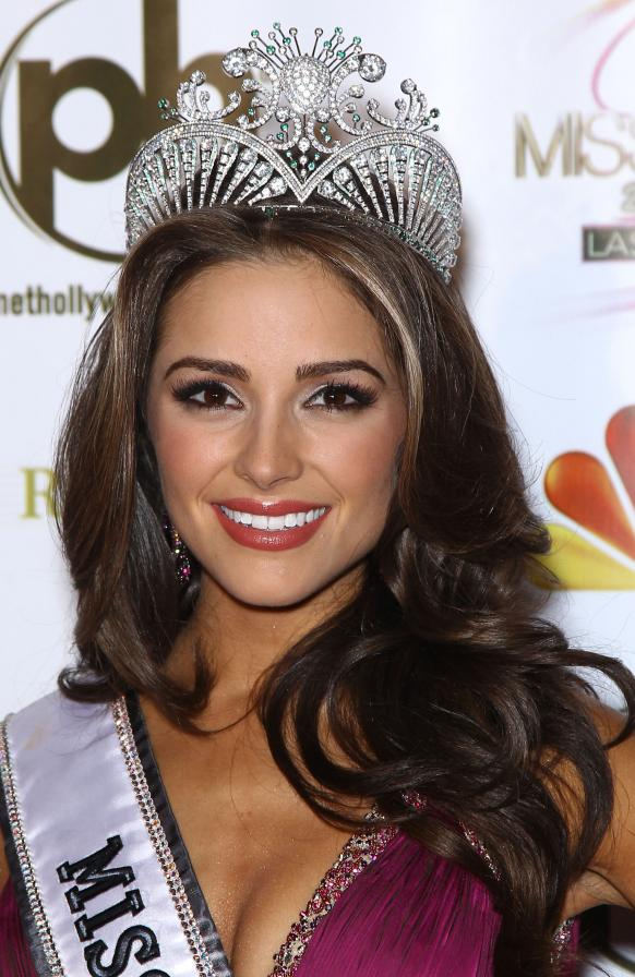 Miss USA Olivia Culpo berhasil Merebut Mahkota Miss Universe 2012