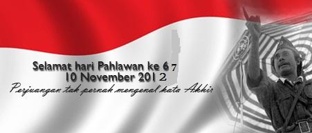 Hari Pahlawan 67 2012